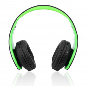 Wireless Bluetooth Headset Over-Ear, Emopeak Q1 Rro Bluetooth 4.2 Earphone, Foldable Hi-Fi Stereo Headphone with 3.5mm Audio Jack MIC for Smart Phones & Tablets