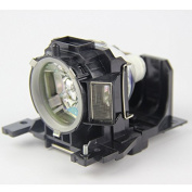 Sekond DT00891 Replacment Lamp With Housing For Hitachi CP-A100, CP-A100J, CP-A101, ED-A100, ED-A100J, ED-A110, ED-A110J, HCP-A8 Projectors