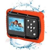 BYbrutek Kids Camera, 12MP HD Children Underwater 3M Waterproof Action Camera Camcorder, 5.1cm LCD, 4x Digital Zoom, 5 MP CMOS Digital Camera