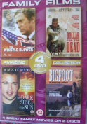 Family Films Box Set - 4 Great Family Movies on 2 Discs - The Whistle Blower, Dollar for the Dead, The Dark Side of the Sun, Bigfoot