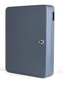 PAVO 8027064 Key Cabinet for 140 Keys - Dark Grey