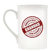 World's Best Grandad Seal Design Bone China Mug