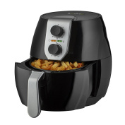 Koolle Low Fat, Oil Free Rapid Nutri Air Fryer with Timer and Divider, for Healthier Cooking, 4L Capacity Airfryer