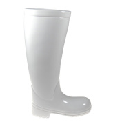 Fancy Umbrella Stand - Rain Boot - white, eye-catcher in the entry area