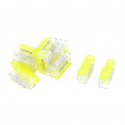 10pcs 1.5-2.5mm2 1 to 1 Insulation I-Clamp Wire Connector Wiring Splice