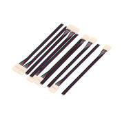 10Pcs 15cm Long 10mm Width 4 Pin Wire Connector for Led 5050 RGB Strip