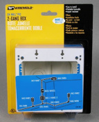 Wiremold Double Gang Switch Box
