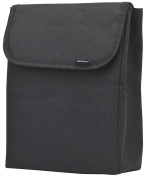 Smash Fold Up Insulated Lunch Bag - Black and Purple