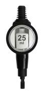Deluxe Round Spirit Dispenser 25ml, GS by Chabrias Ltd