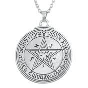 Amulet Talisman Seal Pentacle of Venus of King Solomon Necklace