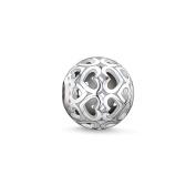 Thomas Sabo Women-Bead Hearts Karma Beads 925 Sterling Silver K0006-001-12