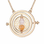 Hermione rotating time turner Pendant Necklace Jewellery Costume Props