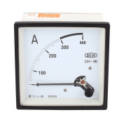 DH-96 AC 0-300A Current Panel Ammeter Electrical Tester Gauge