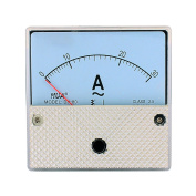 DH80 Pointer Needle AC 0-30A Current Tester Panel Analogue Ammeter 82mm x 82mm