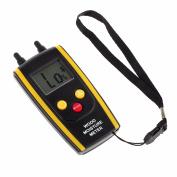 ESYNIC Wood Moisture Metre Mini 2-pin Digital LCD Wood Timber Temperature Humidity Tester Damp Handheld Detector Precision Tool Backlight