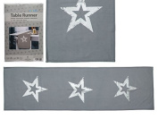 OOTB Table Runner, Cotton, Grey, 40 x 40 x 1 cm