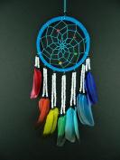 Beautiful dream catcher rainbow stone modern style dreamcatcher fair trade brilliant quality