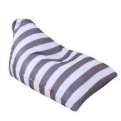 Sisit Kids Stuffed Animal Plush Toy Storage Bean Bag Soft Pouch Stripe Fabric Chair Practical Convenient Universal bag 65*95*55cm/26*37*22 inch