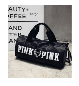 Beauty Smooth Design Lightweight Water-Resistant Folding Nylon Shoulder Bags or Holdall Pink Gym Sports Bag