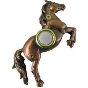 Alcott Hill Horse Doorbell Surface Mount Pushbutton