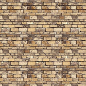 id Backscenes Scenic Brick / Building Papers - Stone Block