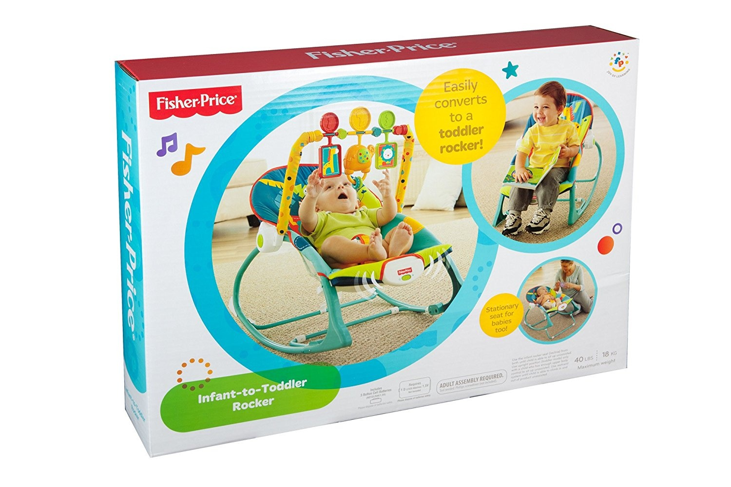 Fisher Price Infant To Toddler Rocker Dark Safari X7046 Pink Share This Product