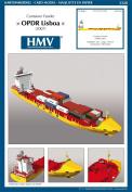 HMV 3328 Papermodel Container Feeder OPDR Lisboa