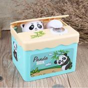 Gaomoo stealing coin Panda money bank,Stealing Coin Money Box