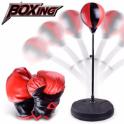 Hotsellhome DIY Children Training Fitness Boxing Sand Bag Punching Bag Toy Gift for Indoors and Outdoors