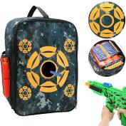 Tacobear Target Pouch Storage Carry Equipment Bag for Nerf N-strike Elite / Mega / Rival Series