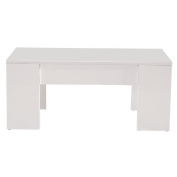 Coffee Table Liftable White