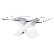 Coffee Table Rectangle High Gloss White