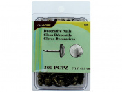 Dritz Home Upholstery Decorative Nails 1.1cm 300/Pkg