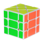 3X3X3 Magic Cube Speed Puzzle Learning Educational Toy For Children Kids - White