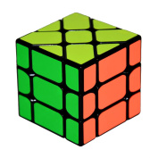 3X3X3 Magic Cube Speed Puzzle Learning Educational Toy For Children Kids - Black