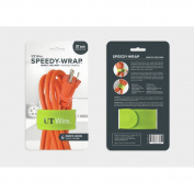 UT Wire 50cm Speedy-Wrap Magnetic Cable Wrap for Extension Cords, Green