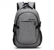Oaktale USB Laptop Backpack with Charging Port (38cm ) Water-Resistant, Anti-Theft Notebook Computer Bag | Portable Travel, School, Work, Gaming | Men, Women, Teens
