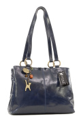 Catwalk Collection Big Tote/Shoulder Bag - Bellstone - Vintage Leather