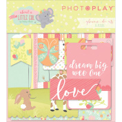 About A Little Girl Ephemera Cardstock Die - Cuts