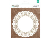 American Crafts DIY2 Paper Doilies, White Multi-Coloured