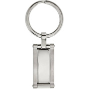 Primal Steel Stainless Steel Brushed and Polished Key Chain