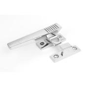 Metal Level Pull Locking Adjustable Handle Window Door Locks Silver Tone