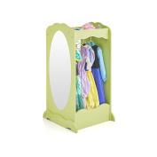 Guidecraft Dress Up Cubby Centre Light Green - Armoire, Dresser Kids' Furniture
