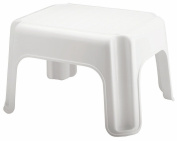 Rubbermaid Step Stool, Small Stool, White, Small