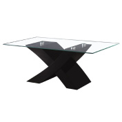 Coffee Table Rectangle High Gloss Black