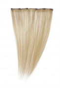 Love Hair Extensions 50cm Clip In Extension, Human Hair, Colour 24 - Sunlight Blonde