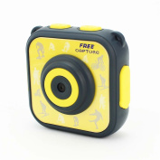 Sport Kids Camera HD MeiTeAi Waterproof Children Action Cam Learn Camera for Kid 4.5cm LCD Screen Digital Video Camcorder Boy Girl Christmas Birthday Gift Toy with 8G Memory Card