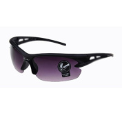 Sunglasse - oulaiou Motocycle Cycling Riding Running Sports UV Protective Goggles Sunglasses Black