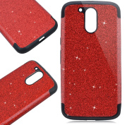 SmartLegend Moto G4 Case Glitter, Moto G4 Plus Case Glitter, Luxury Sparkling Bling Soft Silicone Case Cover for Motorola Moto G4/ G4 Plus, Anti Slip Scratch-Resistant Design Practical Elegant Lightweight Ultra Thin TPU Bumper Cover Smartphone Protecti ..