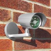 Dummy Fake CCTV Camera with PIR Motion Sensor LED Light